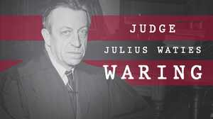 Judge Julius Waties Waring poster image