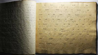Reading By Touch poster image canonical_images/feature/Braille_canonical.jpg XXX