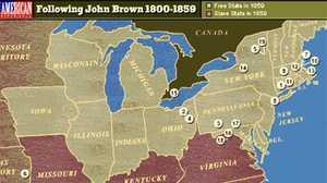 Following John Brown poster image