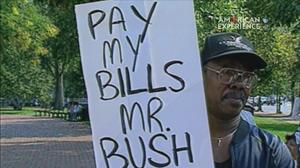 Bush on the Economy: a Sluggish Economy poster image