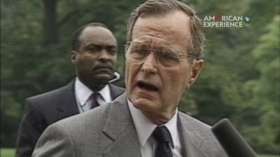HW Bush on Policing the World: Opposing Iraqi Aggression poster image