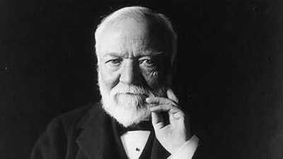 Biography: Andrew Carnegie poster image