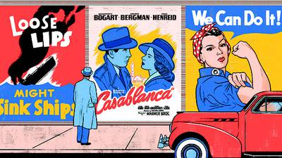 Here's Looking at You, Casablanca poster image