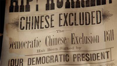 Airs May 29 | The Chinese Exclusion Act, Preview poster image
