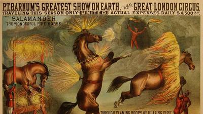 Animal Welfare and the Circus: The Jack London Club poster image
