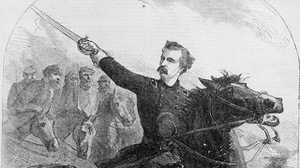 Lt. Col. George Custer poster image