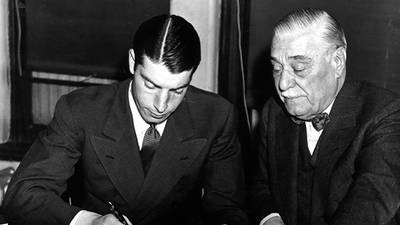 DiMaggio's Contract Hold-out poster image