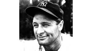 Lou Gehrig poster image