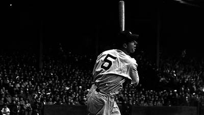 Timeline of Joe Dimaggio's Life poster image
