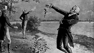 Alexander Hamilton and Aaron Burr's Duel poster image