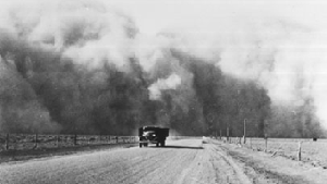 Making Surviving the Dust Bowl poster image