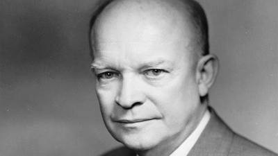 Eisenhower's State of the Union Address, 1954 poster image