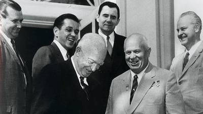 Eisenhower's Foreign Affairs poster image
