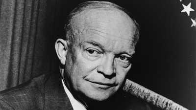 Eisenhower's Farewell Address, 1961 poster image