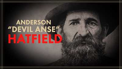 "New | Anderson ""Devil Anse"" Hatfield poster image"