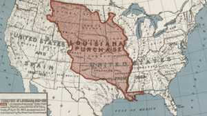 Jefferson makes the Louisiana Purchase poster image