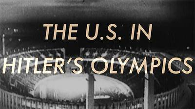 The U.S. in Hitler's Olympics poster image