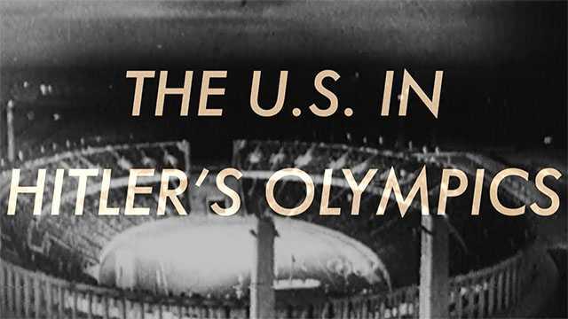 The U.S. In Hitler's Olympics