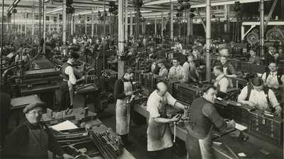 Working at Ford's Factory poster image