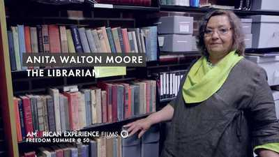 "Anita Walton Moore - ""The Librarian"" poster image"
