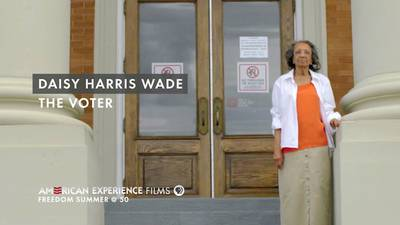 """Daisy Harris Wade - """"The Voter"""" poster image"""
