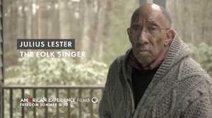 "Julius Lester - ""The Folk Singer"" poster image"