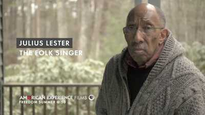 "Julius Lester - ""The Folk Singer"" poster image"
