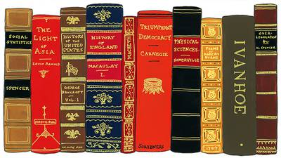 Carnegie's Bookshelf poster image canonical_images/feature/Gilded_Carnegie_bookshelf_canonical.jpg XXX