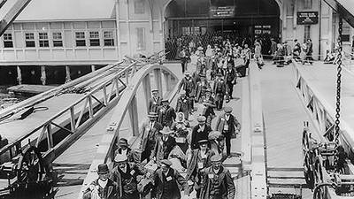Immigration and Deportation at Ellis Island poster image