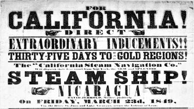 The California Gold Rush poster image
