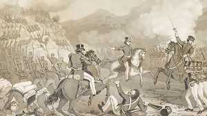 The Mexican American War poster image