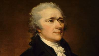 Alexander Hamilton (1755-1804), a Profile poster image