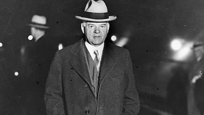 President Herbert Hoover poster image