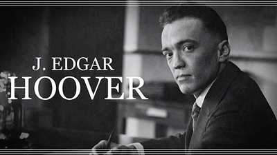 Becoming J. Edgar Hoover poster image