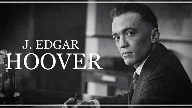 Becoming J. Edgar Hoover