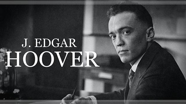 Becoming J. Edgar Hoover