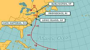 The Path of the Hurricane of '38 poster image