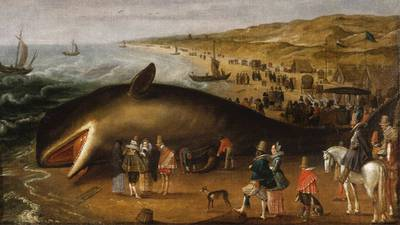 Whaling in America poster image