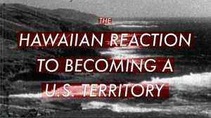 Lowering the Hawaiian Flag poster image