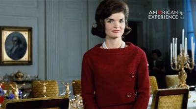 Jackie and the White House poster image