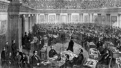 The Impeachment of Andrew Johnson poster image