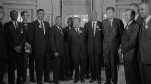 John F. Kennedy'sAddress on Civil Rights poster image