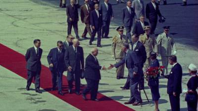 Khrushchev Arrives in America poster image