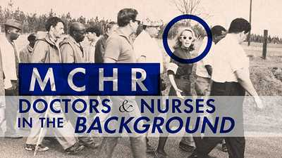 New | MCHR: Doctors & Nurses in the Background poster image