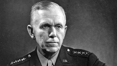 General George C. Marshall poster image