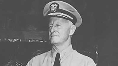 Admiral Chester W. Nimitz poster image