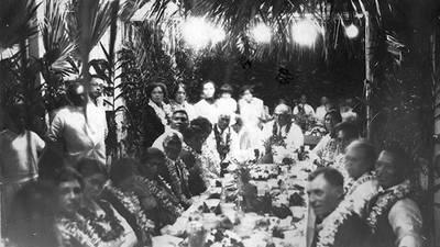 1930s Honolulu poster image