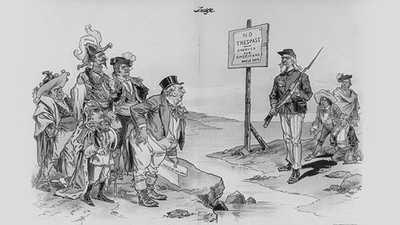 Monroe Doctrine, 1823 poster image