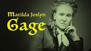 Matilda Joslyn Gage poster image