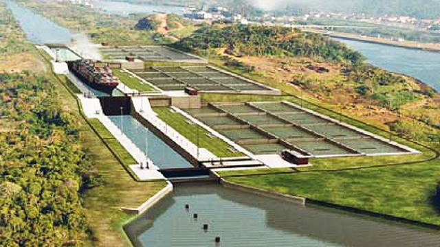 locks on the panama canal american experience official